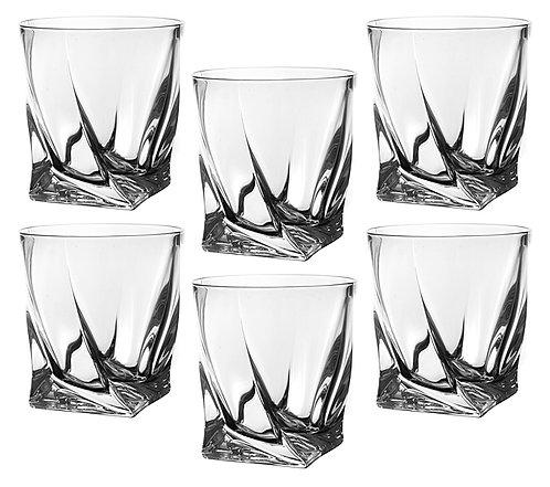 """Набор стаканов, 340мл., """"Квадро"""", «Bohemia», 669-019"""
