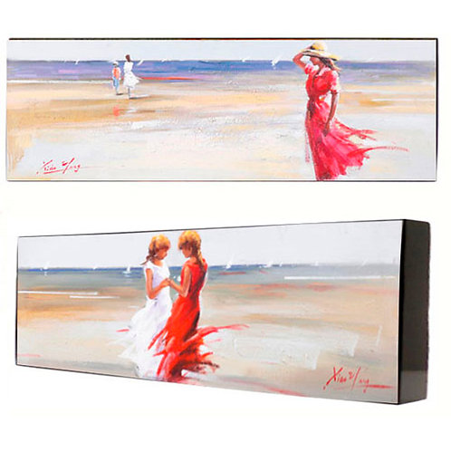 "Картина ""Отдых на побережье"", пара Top Art Studio, производство Франция."