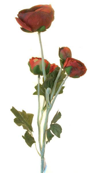 Ранункулус красный, Top Art Studio, HAF0351-TA
