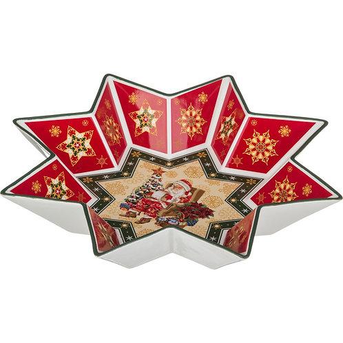 "Салатник Lefard ""Christmas Collection"", диаметр 32 см."