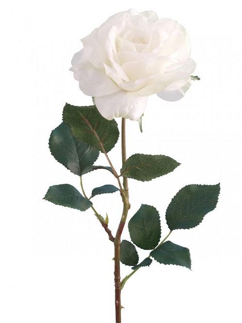 """Роза """"Джорджия"""" кремово-зеленая, Top Art Studio, BB21544C-GR"""