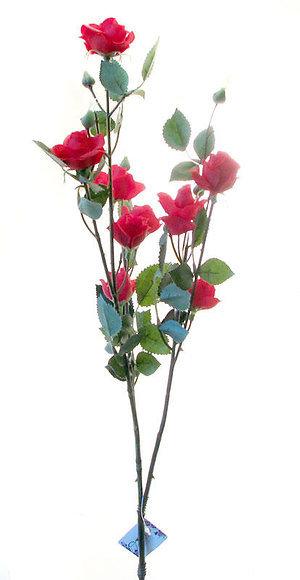 """Роза """"Жак Преве"""" кустовая красная, Top Art Studio, WAF0334-TA"""
