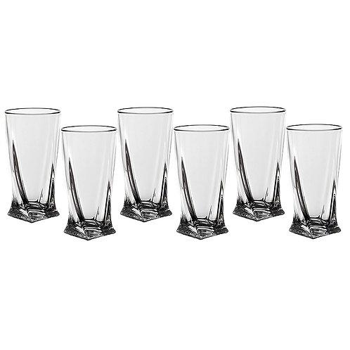 """Набор стаканов, 350мл., """"Квадро"""", «Bohemia», 669-020"""