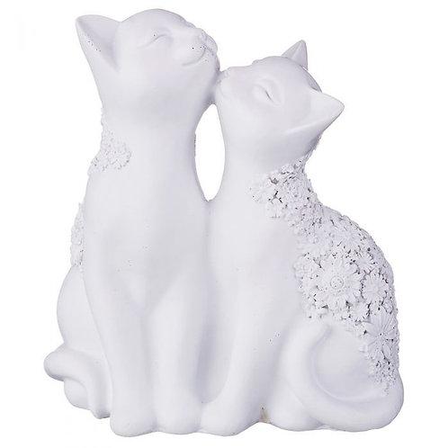 "Статуэтка ""Кошки"", 13 х 7 х 14 см."