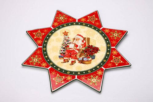 "Блюдо Lefard ""Christmas Collection"", диаметр 30 см."