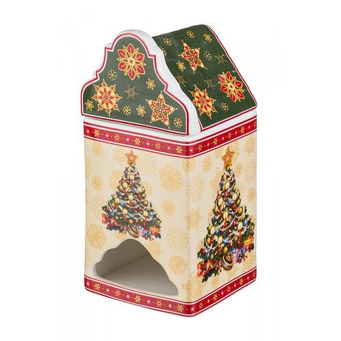"""Банка для чайных пакетиков Lefard """"Christmas Collection""""."""