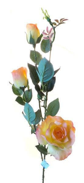 """Роза """"Эльдорадо"""" кустовая оранжевая, Top Art Studio, WAF0587-TA"""