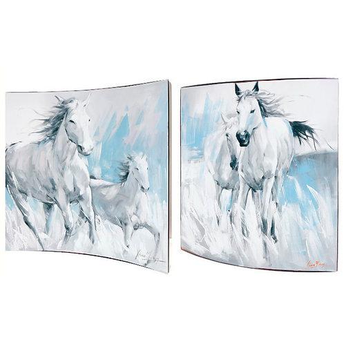 "Картина ""Белые красавицы"", пара Top Art Studio, производство Франция."