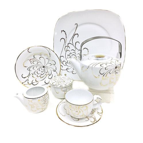 "Чайный сервиз, 24пр., ""Pearl Gold"", «Dankotuwa», 61/04"