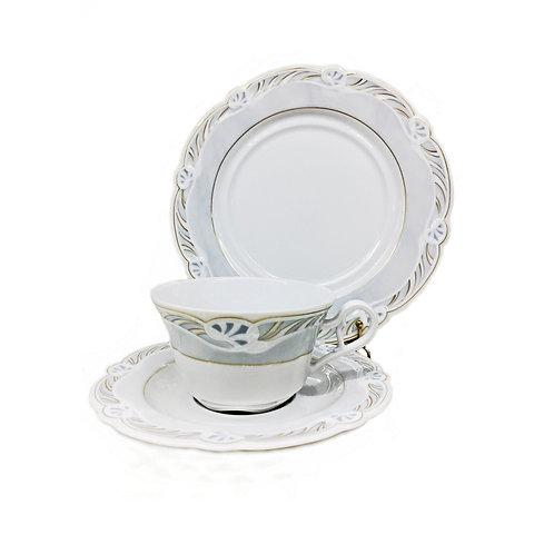 """Чайный сервиз, 18пр., """"Комтесс"""", «Königlich Tettau», 3338/18ч"""