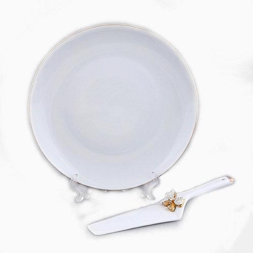 """Блюдо для пирога с лопаткой, """"Venezia"""" 55-2822"""