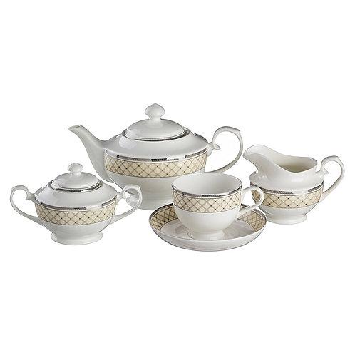 Чайный сервиз, 15пр., «Porcelain Manufacturing», 133-189