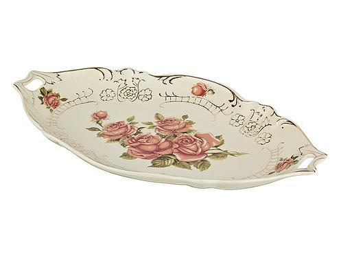 "Декоративное блюдо ""Корейская роза"", 126-532"