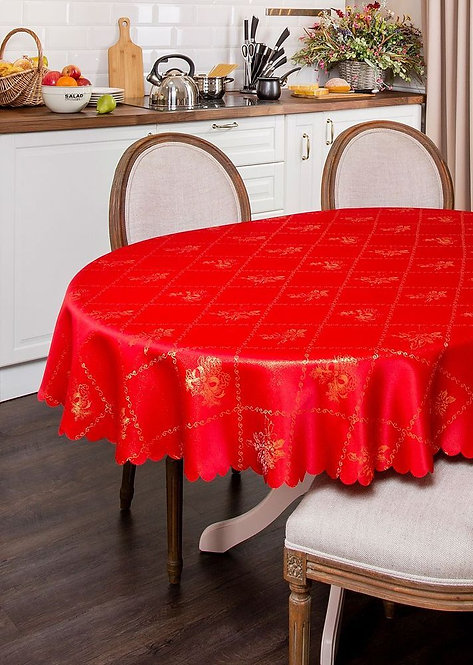 Скатерть Santalino, красная, 150 х 220 см.