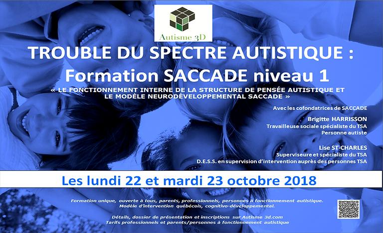 Troubles du spectre autistique - 22 et 23 octobre 2018