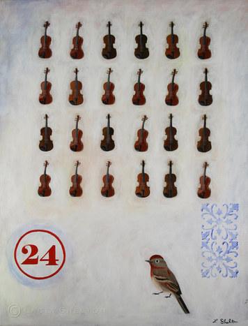 24 Symphonies, 24 Parts