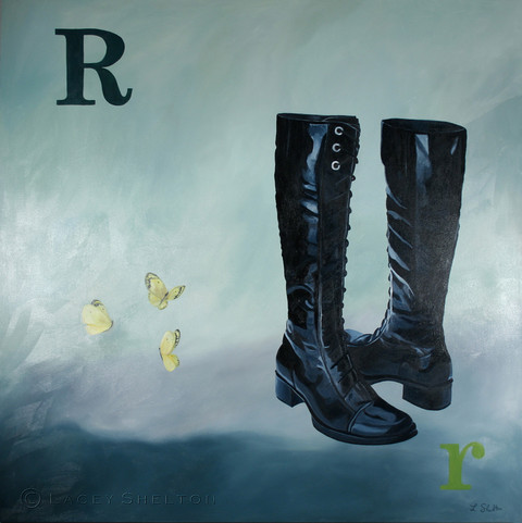 R is for Riding Boots