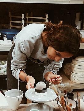 1320 degrés céramique artisanale Cynthia