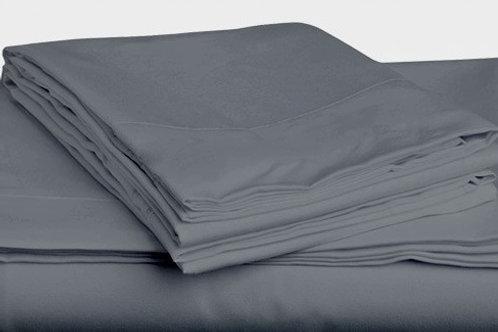 Grey Bamboo Sheet Set - Queen