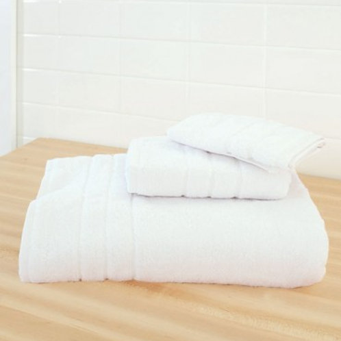 3 Piece Towel Collection - White