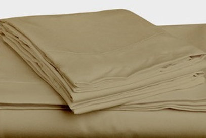 Tan Bamboo Sheet Set - King