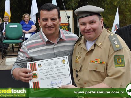 Portela Online recebe homenagem no cinquentenário do 7º BPM
