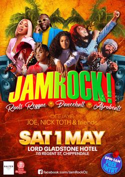 JAMROCK May 1 2021 poster