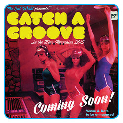 Catch A Groove square flyer