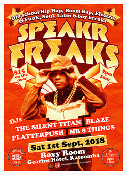 SPEAKR FREAKS 1st SEPT 2018 orange