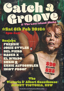 Catch A Groove Feb 6th 2016 Alternate pr