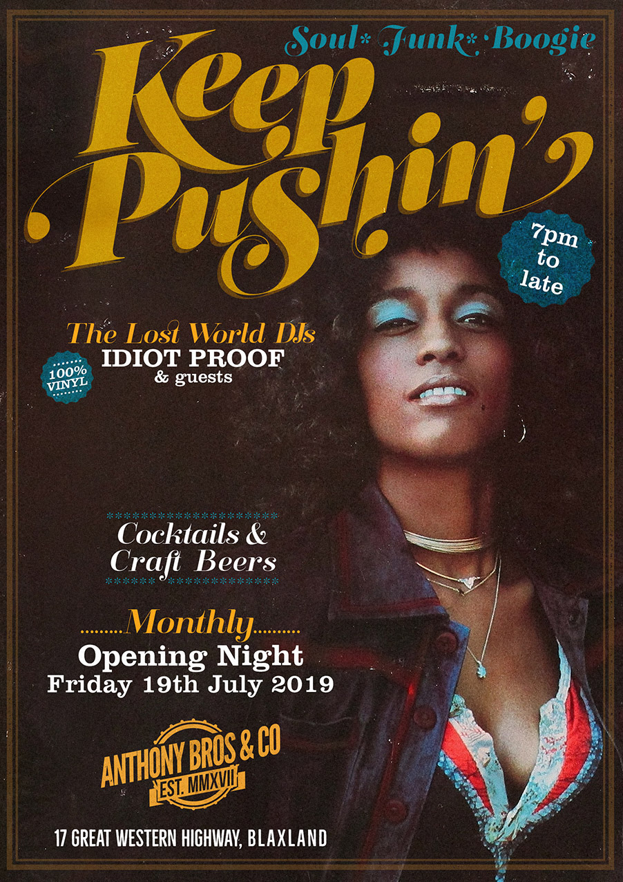 Keep Pushin July 2019
