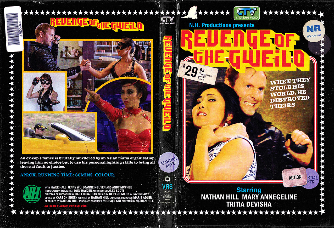 REVENGE OF THE GWEILO DVD VHS ee