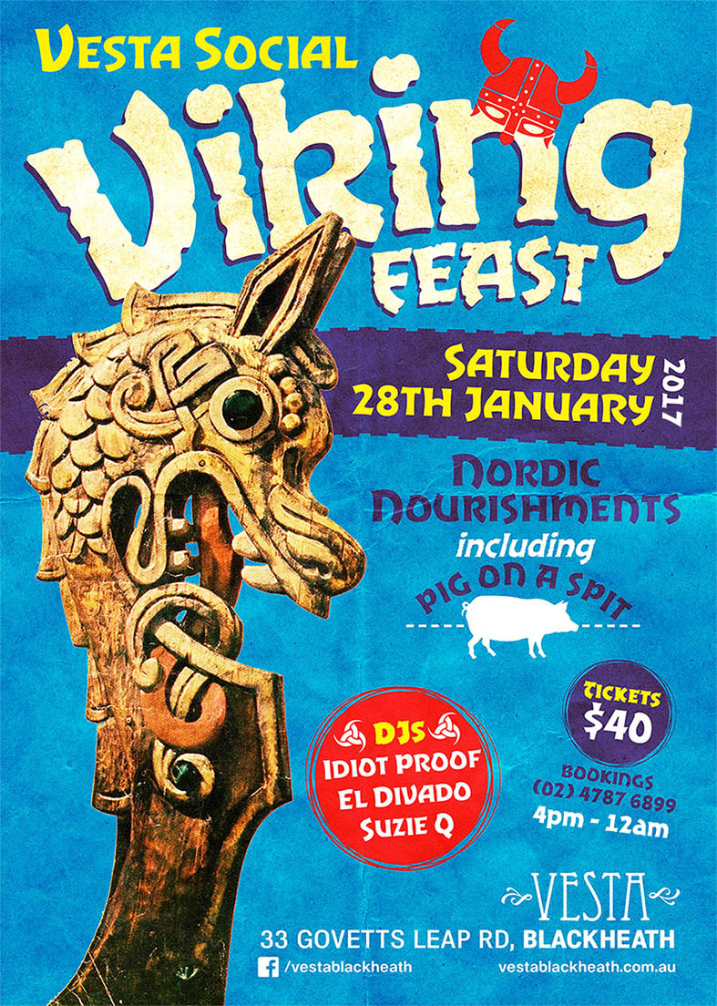 Vesta Viking Feast Jan 2017