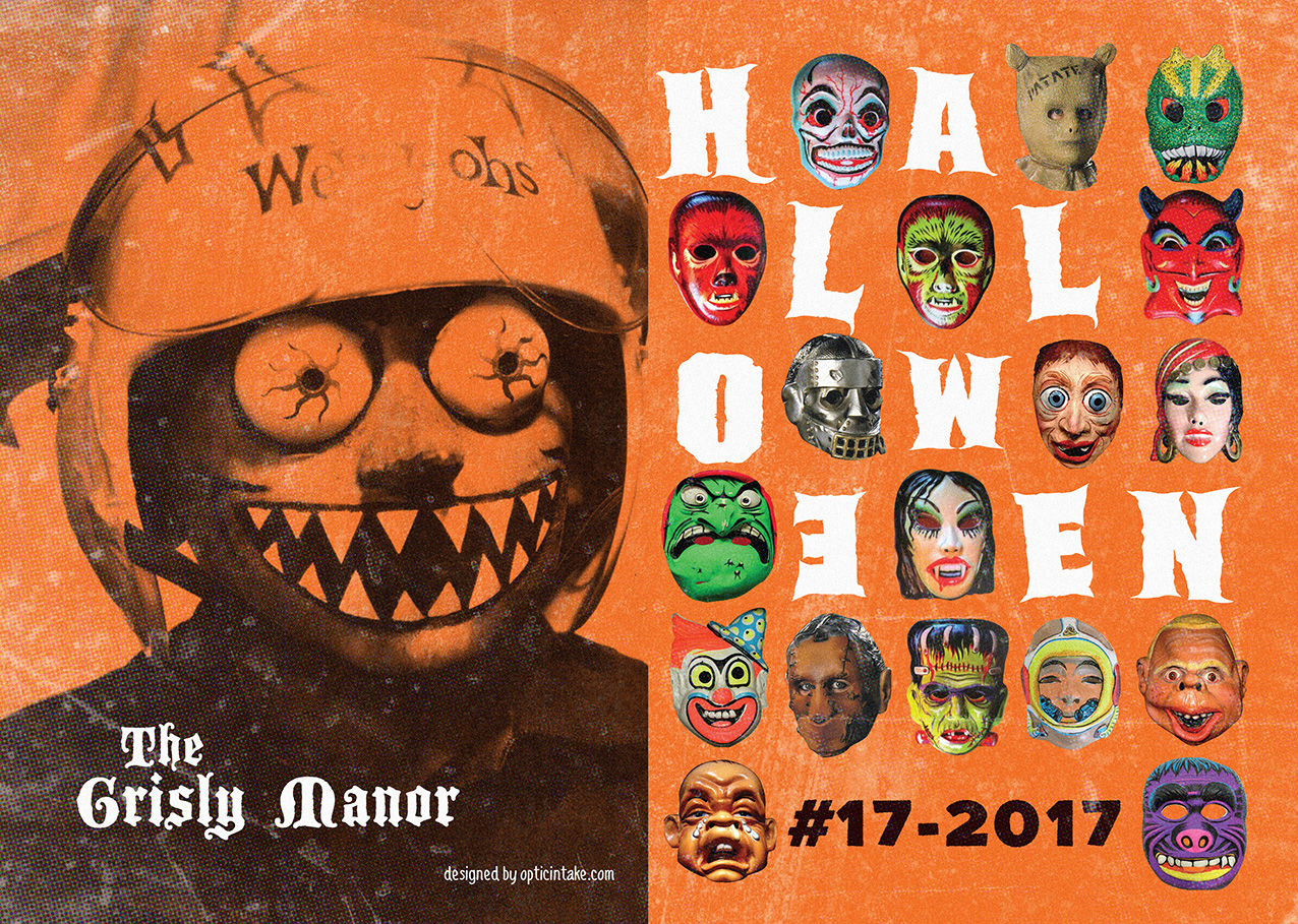 Halloween Invite Grisly Manor 1