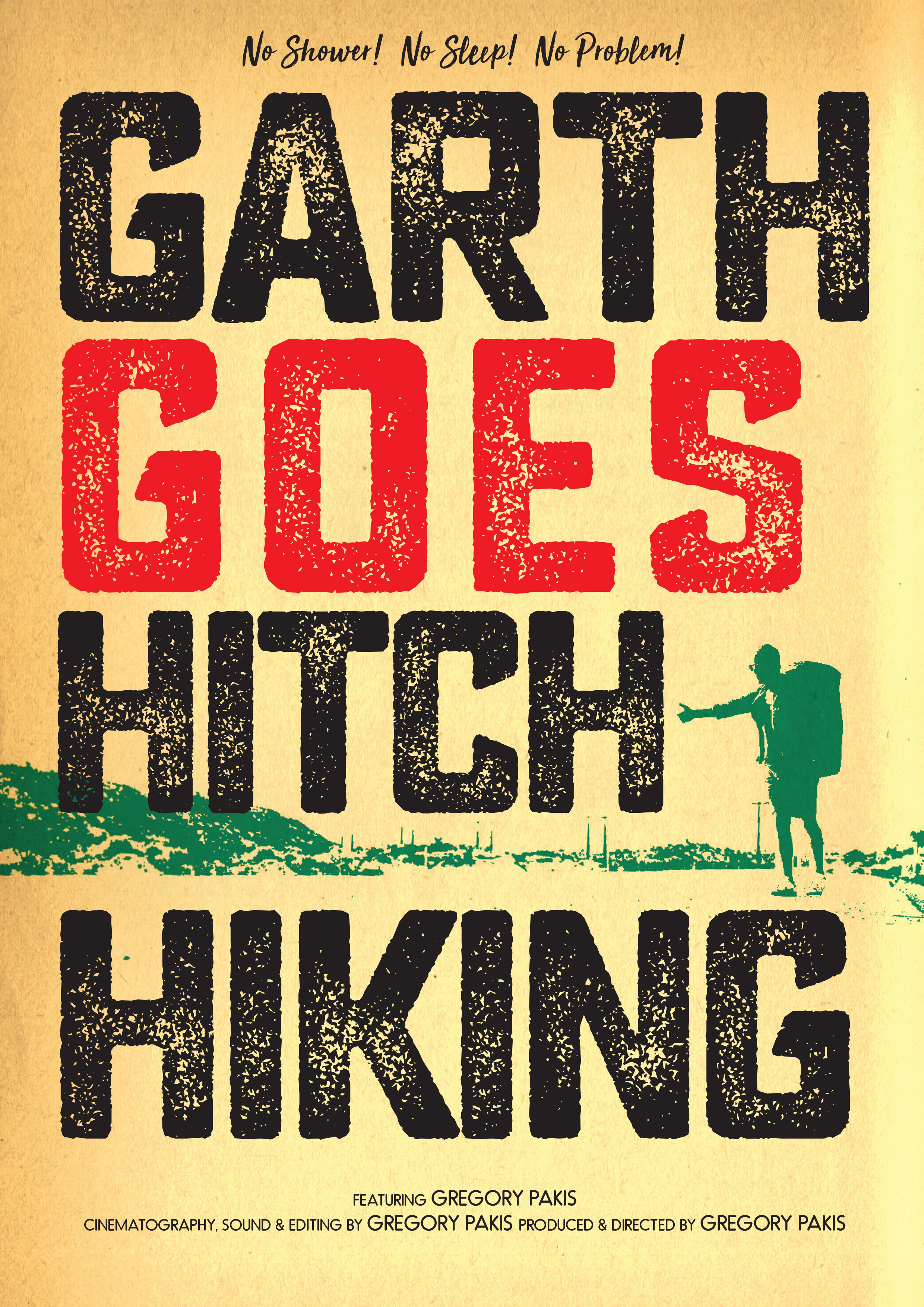 Garth Goes Hitch Hiking poster