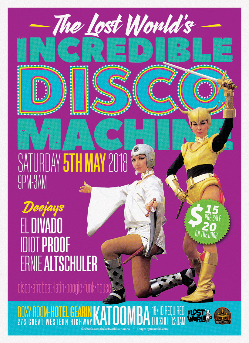 INCREDIBLE DISCO MACHINE A3 ee copy