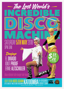 INCREDIBLE DISCO MACHINE