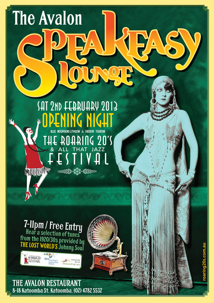 Speakeasy Lounge, The Roaring 20s.