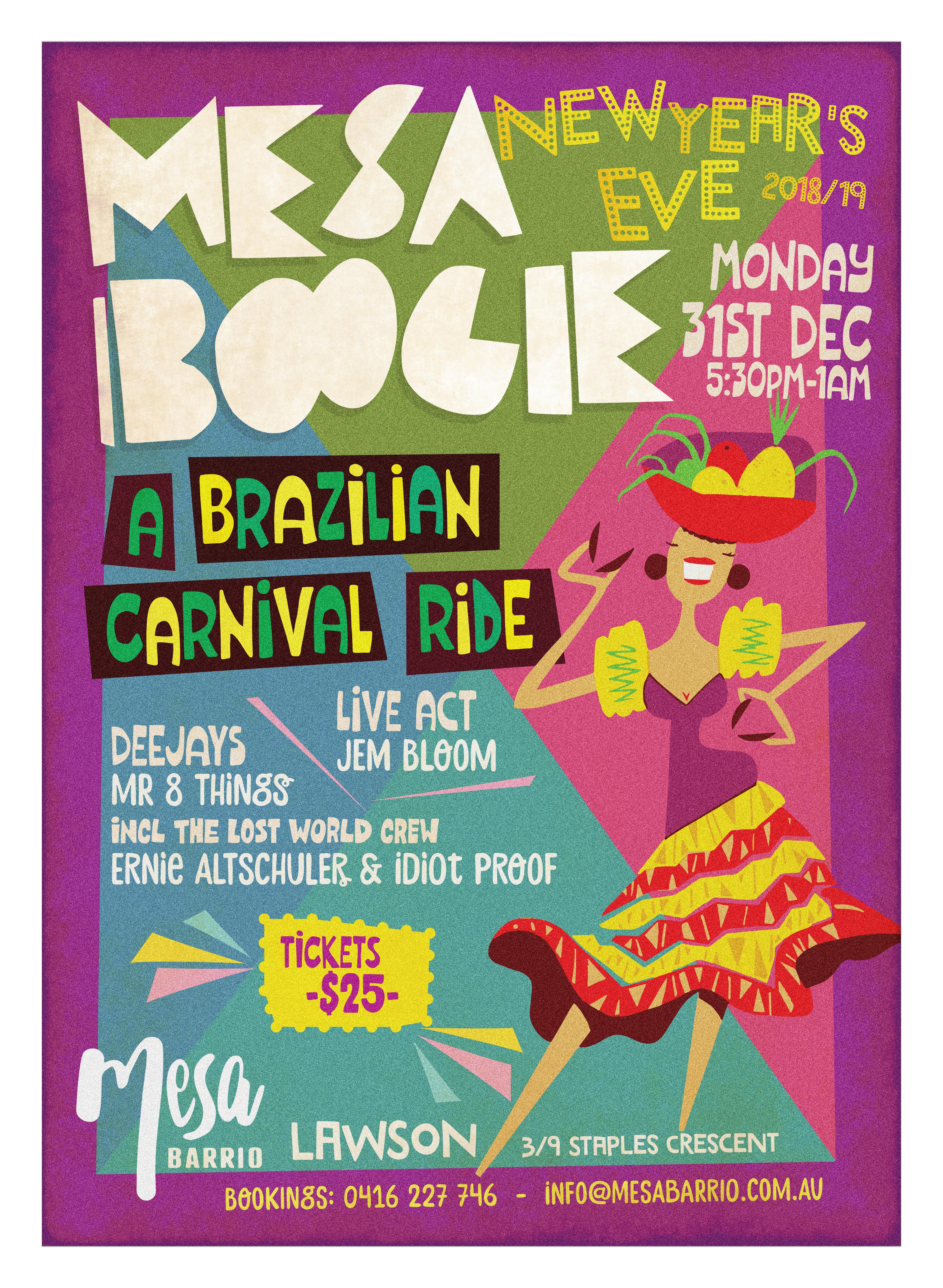 Mesa Boogie Brazil NYE 2018 e