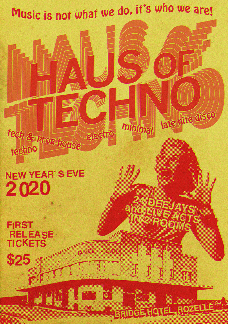 Haus of Techno old school
