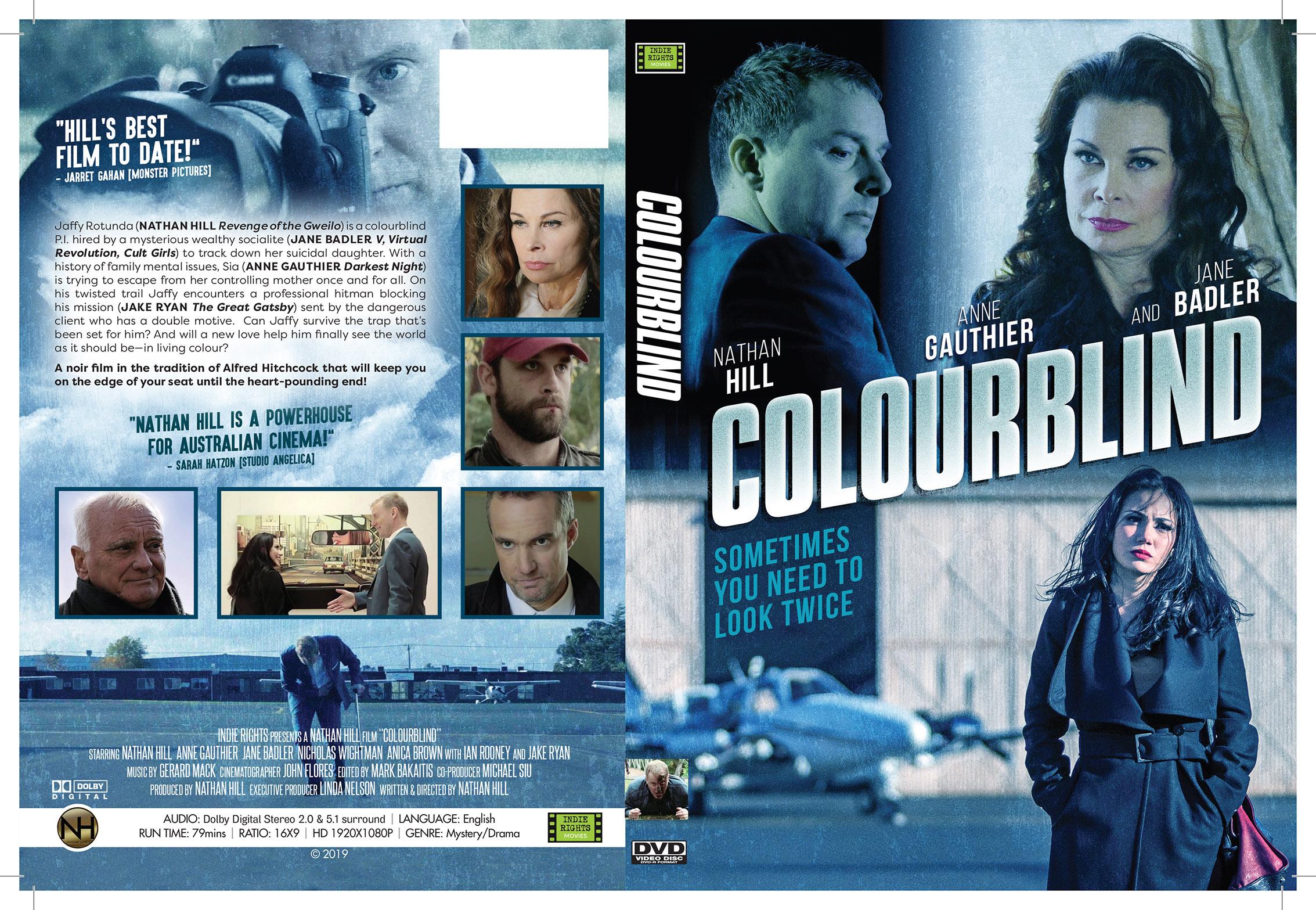 Colourblind slick DVD c