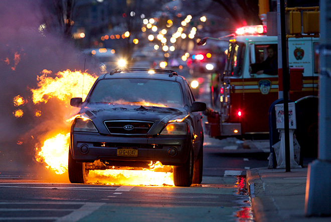 Vehicle Fire & Explosion