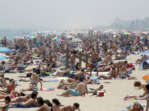 Shore Summertime Traffic