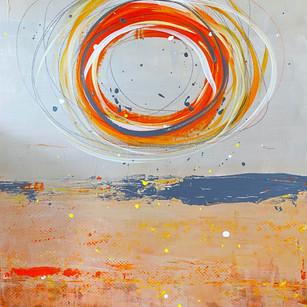 Centered | 30x40 | Acrylic on Canvas