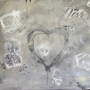 Where There's Love | 30x40 | Mixed Media