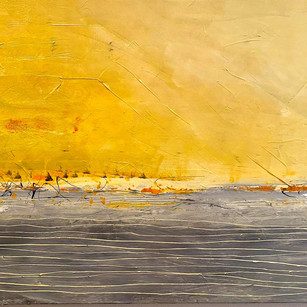 Yellow Dawn | 24x36 | Acrylic