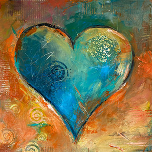 Faint of Heart | 20x20 | Acrylic on Canvas
