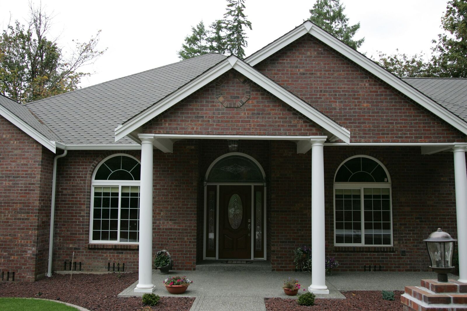 Brick Home Exterior Entry