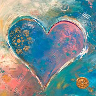 Full Heart | 20x20 | Acrylic