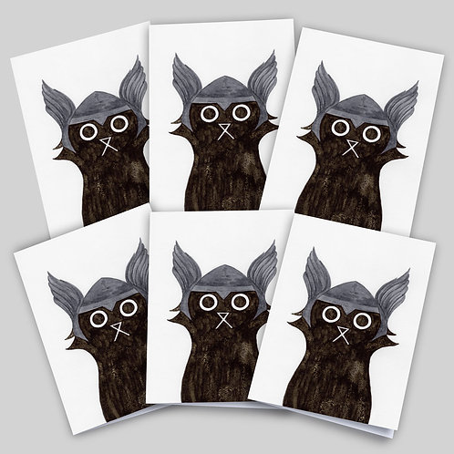 THOR CAT CARD 6 PACK